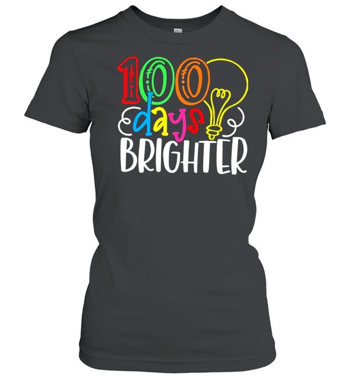 100 Days of School Valentine shirt Classic Women's T-shirt