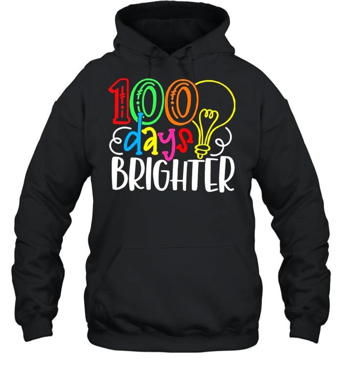100 Days of School Valentine shirt Unisex Hoodie