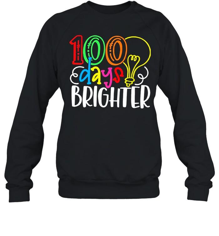 100 Days of School Valentine shirt Unisex Sweatshirt
