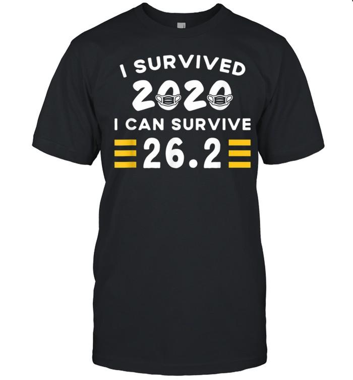 I Survived 2020 I Can Survive 26 2 Marathon Running shirt Classic Men's T-shirt