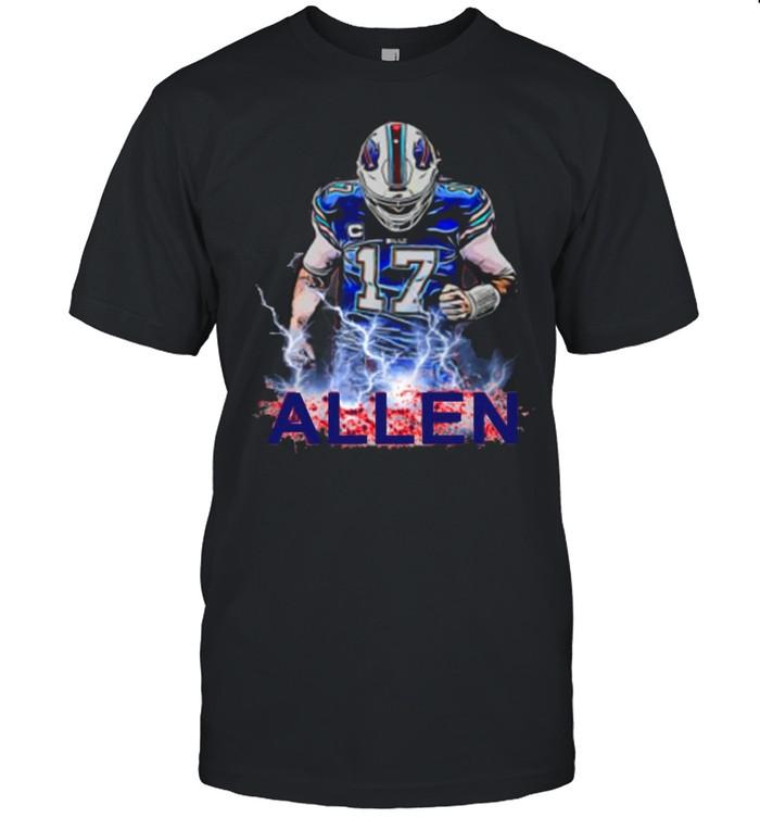 Buffalo 17 Josh Allen Bills 2021 shirt Classic Men's T-shirt