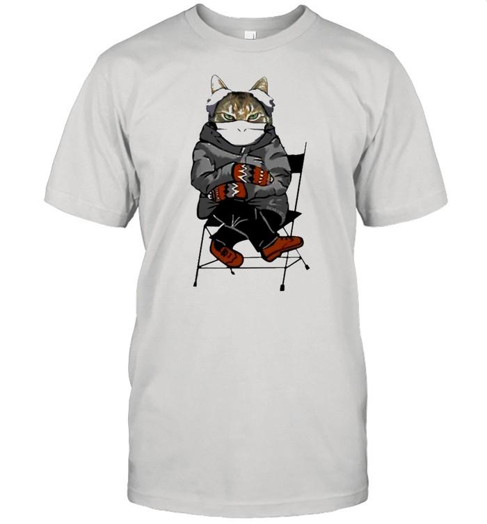 Bernie sanders cat 2021 shirt Classic Men's T-shirt