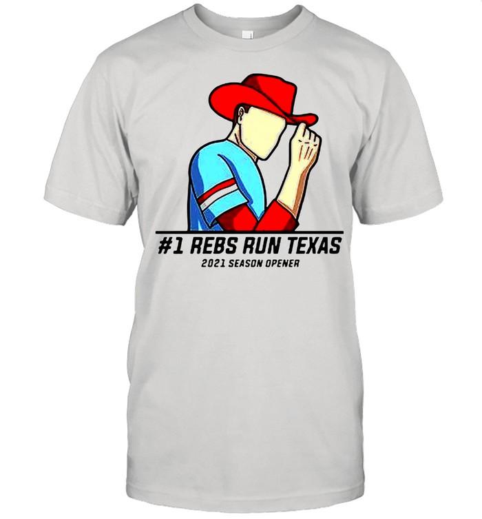 #1 Reps Run Texas 2021 Season Opener shirt Classic Men's T-shirt