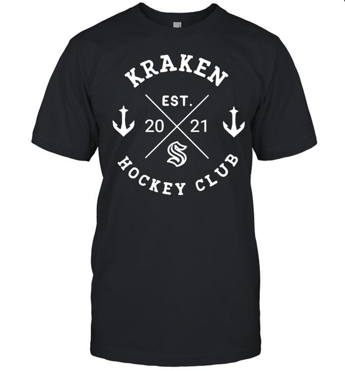 Kraken hockey club est 2021 shirt Classic Men's T-shirt