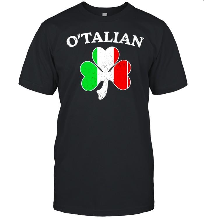 Shamrock O'talian St,Patrick's day shirt Classic Men's T-shirt