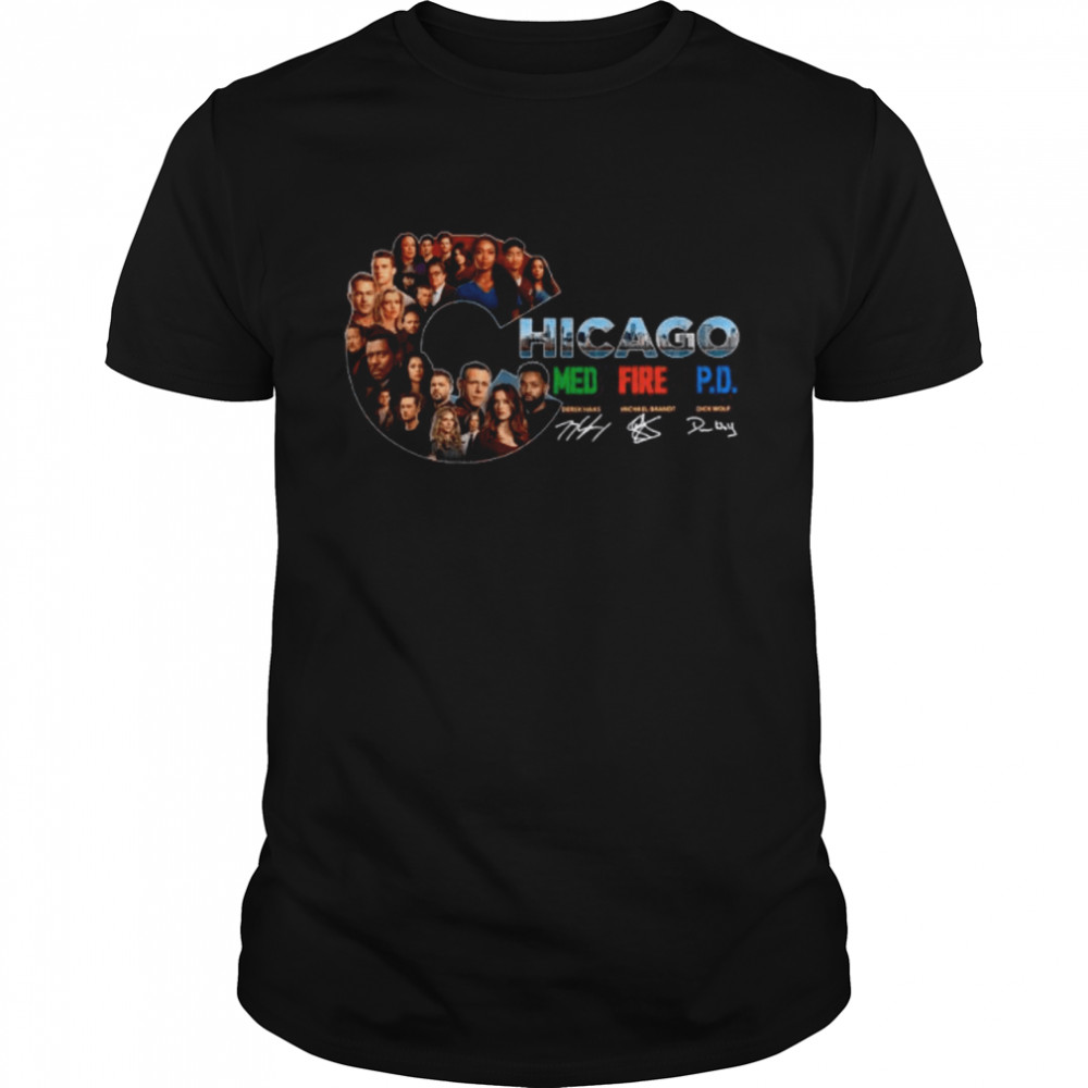 The Chicago Med Fire Pd Signatures shirt Classic Men's T-shirt