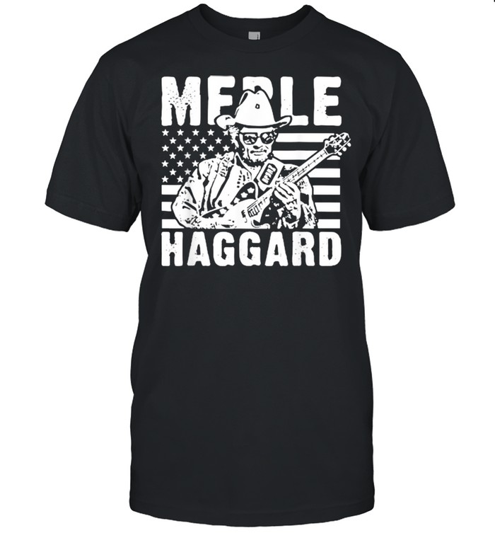 Merle Haggard Outlaw Music Country Legend  Classic Men's T-shirt