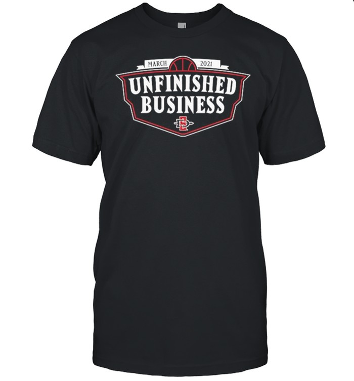 SDSU March 2021 Unfinished Business shirt Classic Men's T-shirt