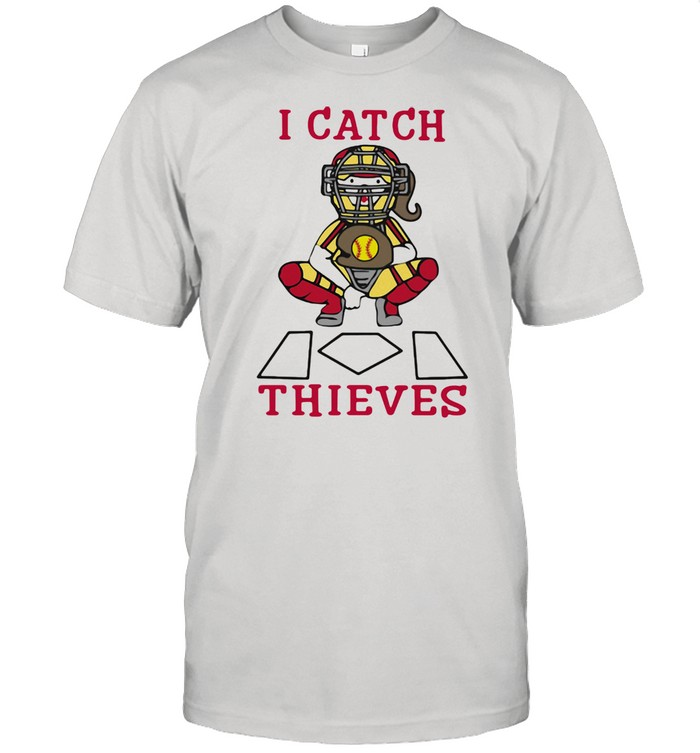 I Catch Thieves Softball  Classic Men's T-shirt