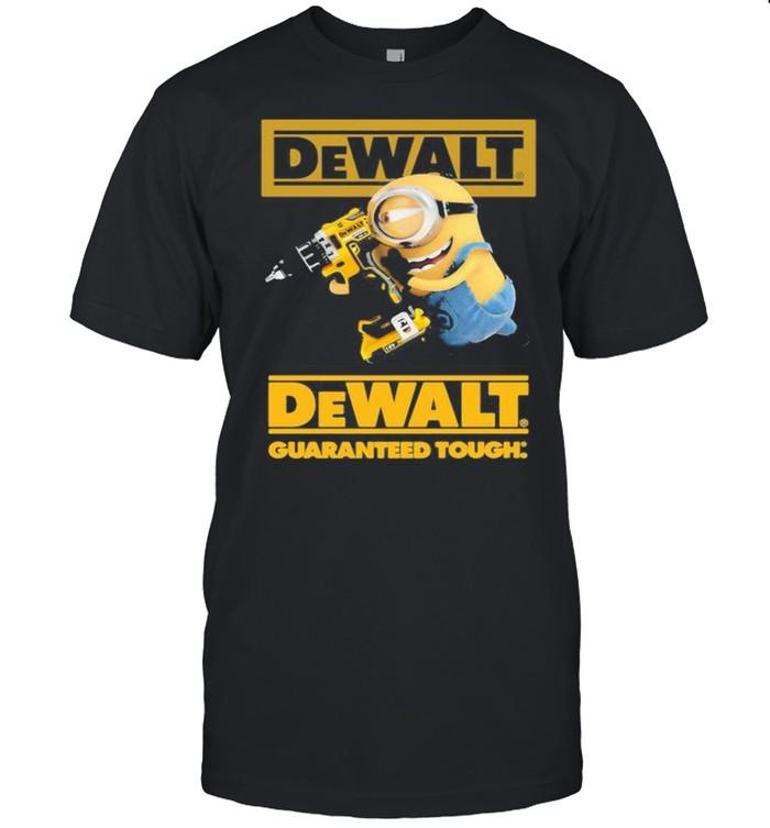 Minion With Dewalt Guaranteed Tough  Classic Men's T-shirt