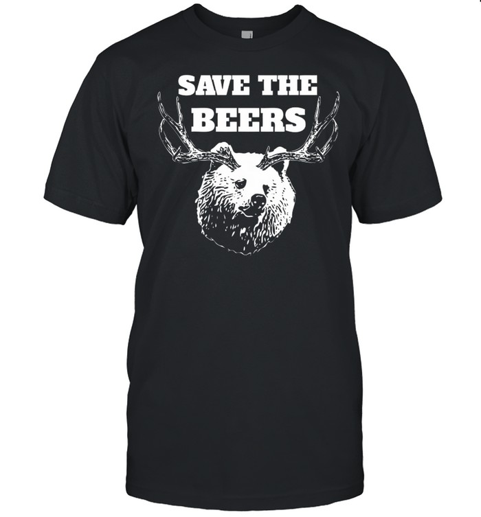 Save the beers hunter shirt Classic Men's T-shirt