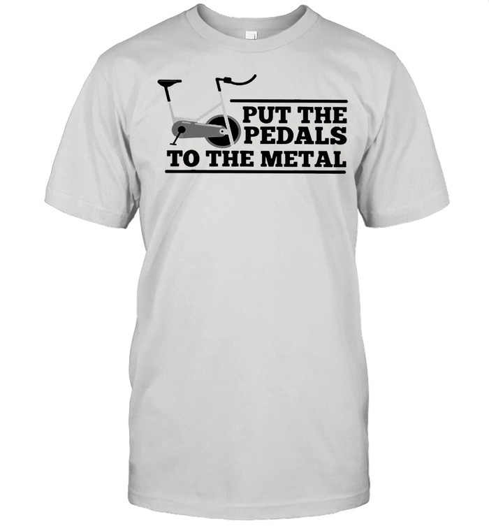 Spinning put the pedals to the metal shirt Classic Men's T-shirt