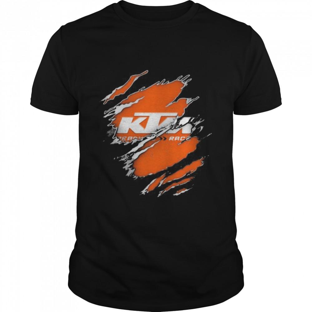 Logo Ktm Perry Race  Classic Men's T-shirt