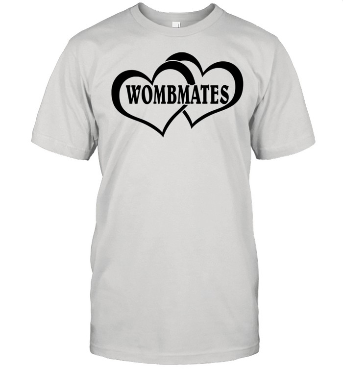 Wombmates Twin Brother Sister Womb Mates Room Mates  Classic Men's T-shirt