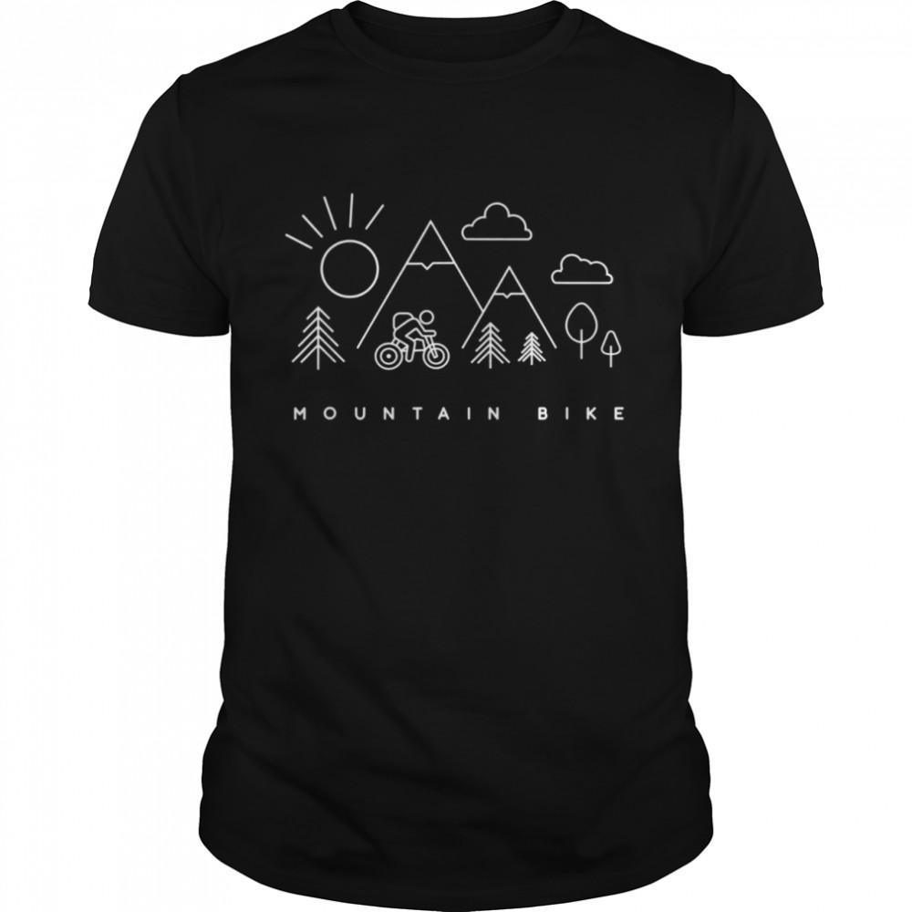 MTB Mountain Bike Apparel MTB Mountain Bike shirt Classic Men's T-shirt