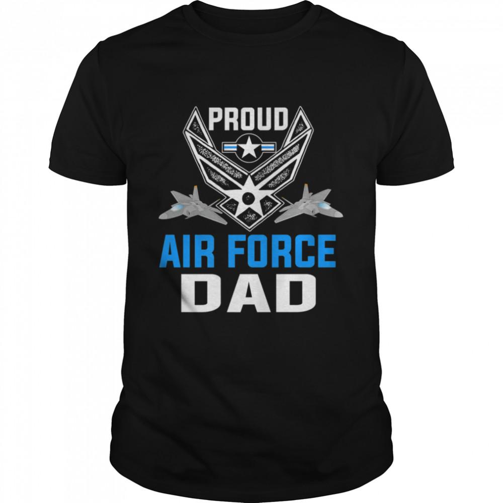 Air Force Dad Military Veteran Pride  USAF  Classic Men's T-shirt