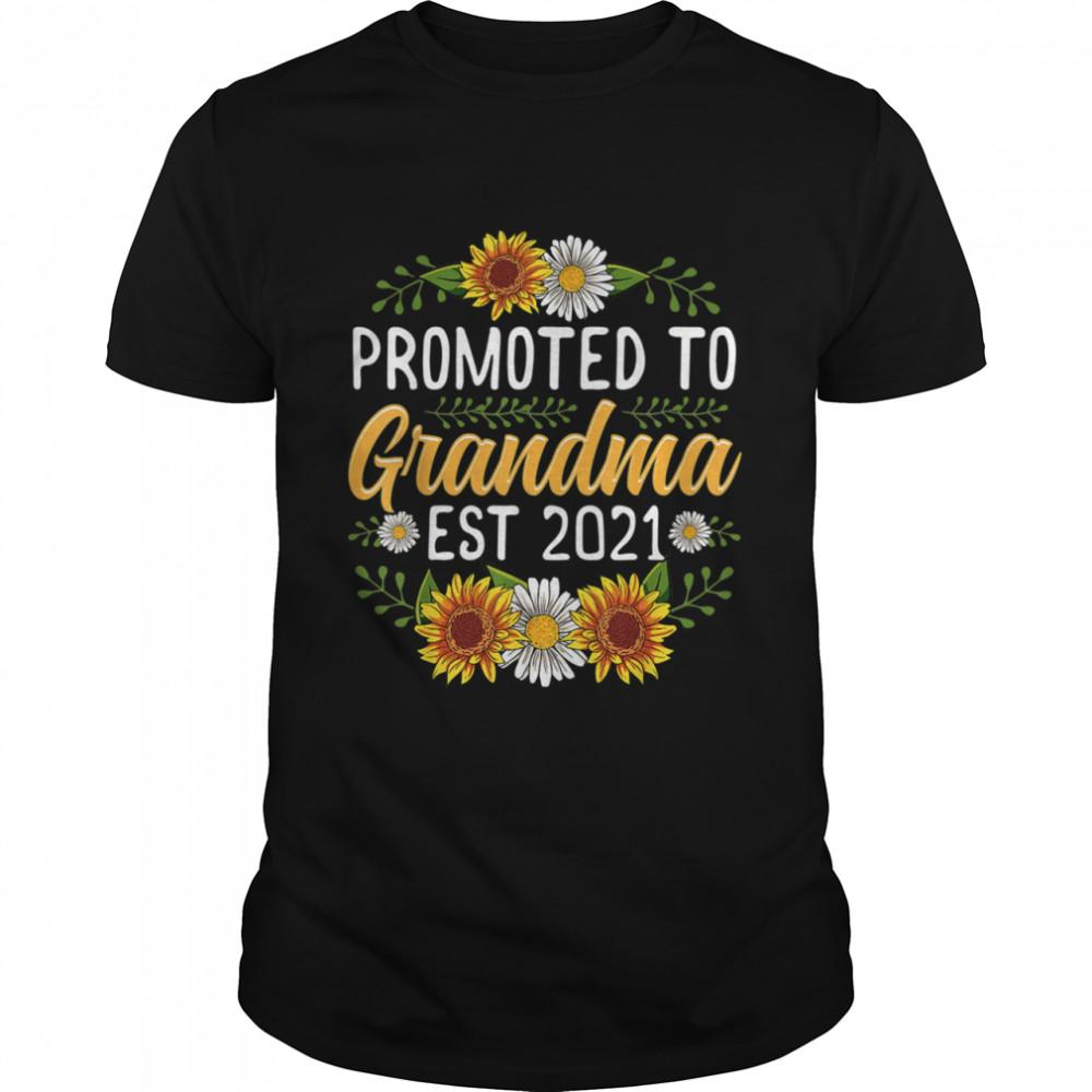 Sunflower Promoted Mamaw 2021 shirt Classic Men's T-shirt