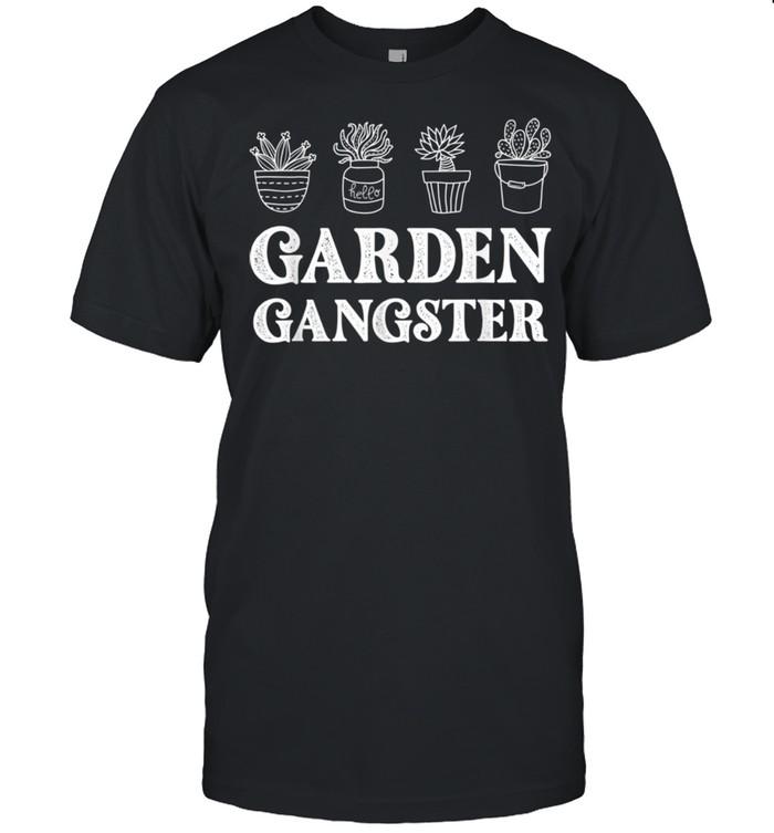 Garden Gangster Planter Gardener shirt Classic Men's T-shirt