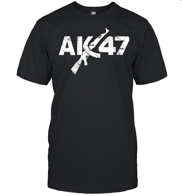 CCCP Original Ak47 Vintage USSR kalashnikov  Classic Men's T-shirt