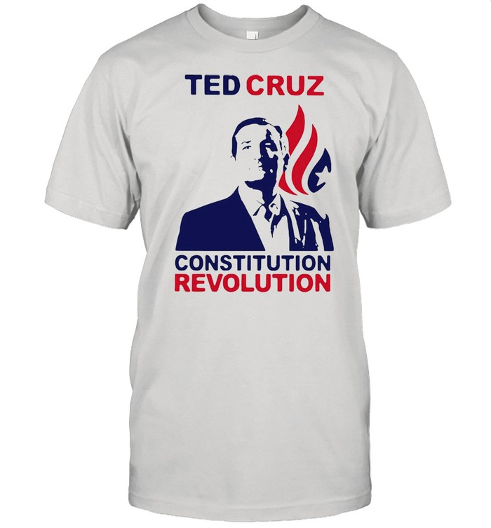 Ted Cruz Constitutional Revolution T-shirt Classic Men's T-shirt