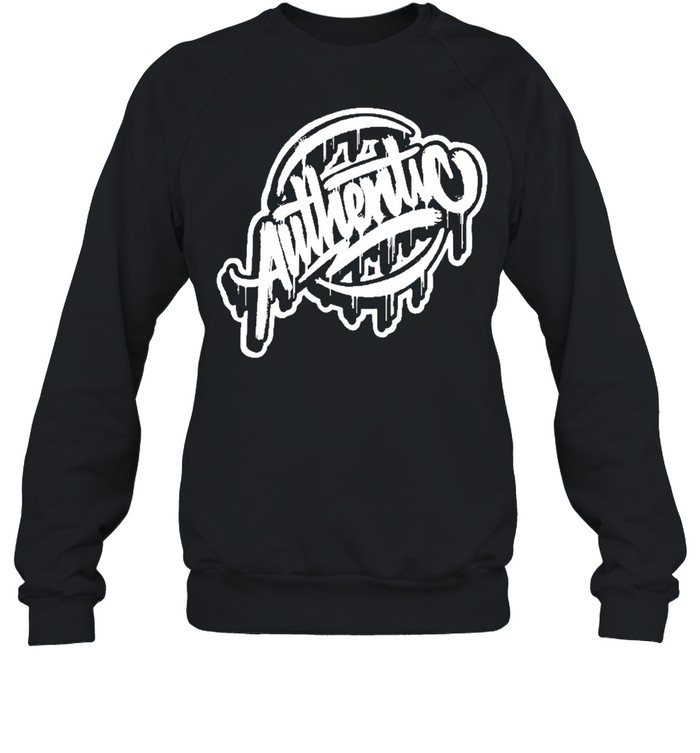 Authentic shirt Unisex Sweatshirt