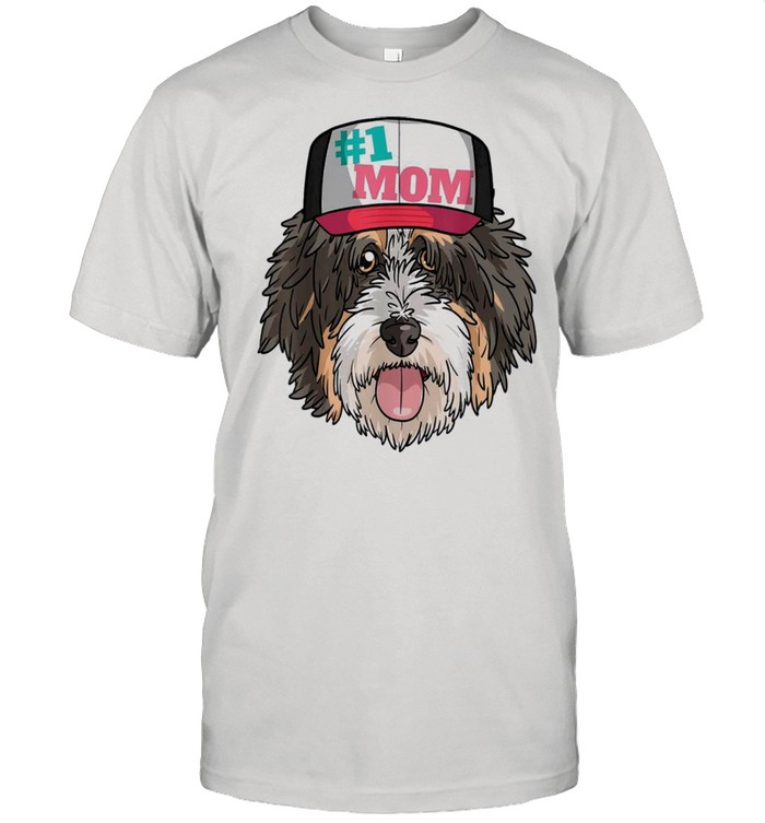 Bernedoodle 1 dog mom mothers day gift shirt Classic Men's T-shirt