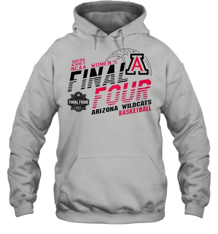 2021 NCAA women's final four Arizona Wildcats basketball shirt Unisex Hoodie
