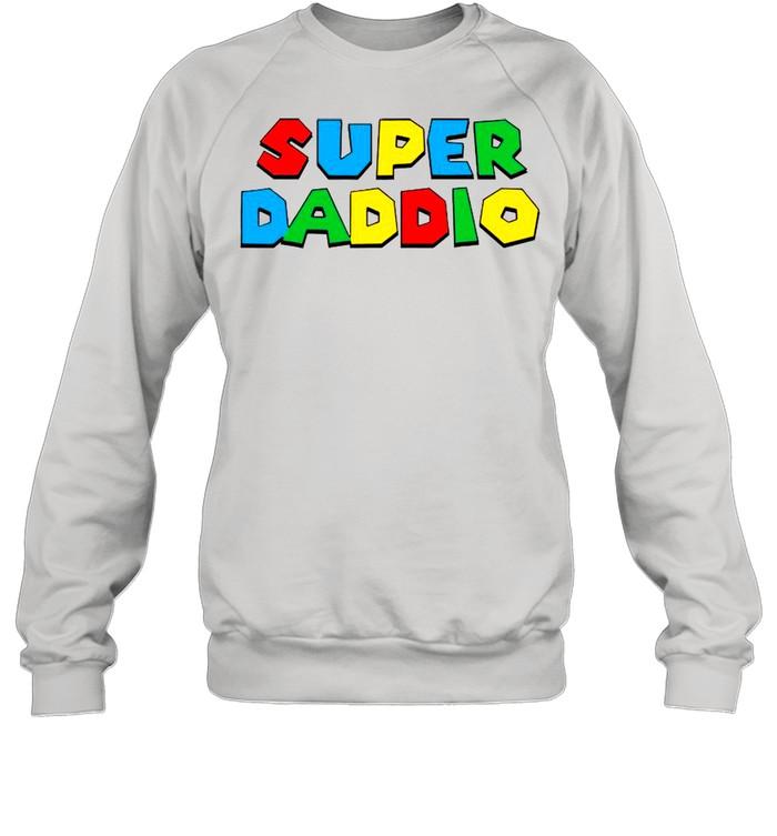 2021 Super Daddio Happy Father's Day shirt Unisex Sweatshirt