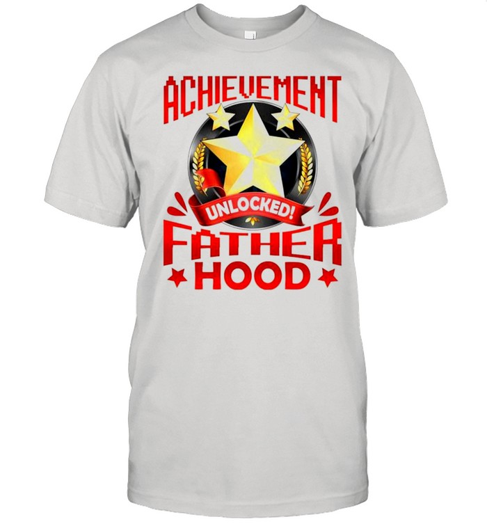 Achievement unlocked fatherhood shirt Classic Men's T-shirt