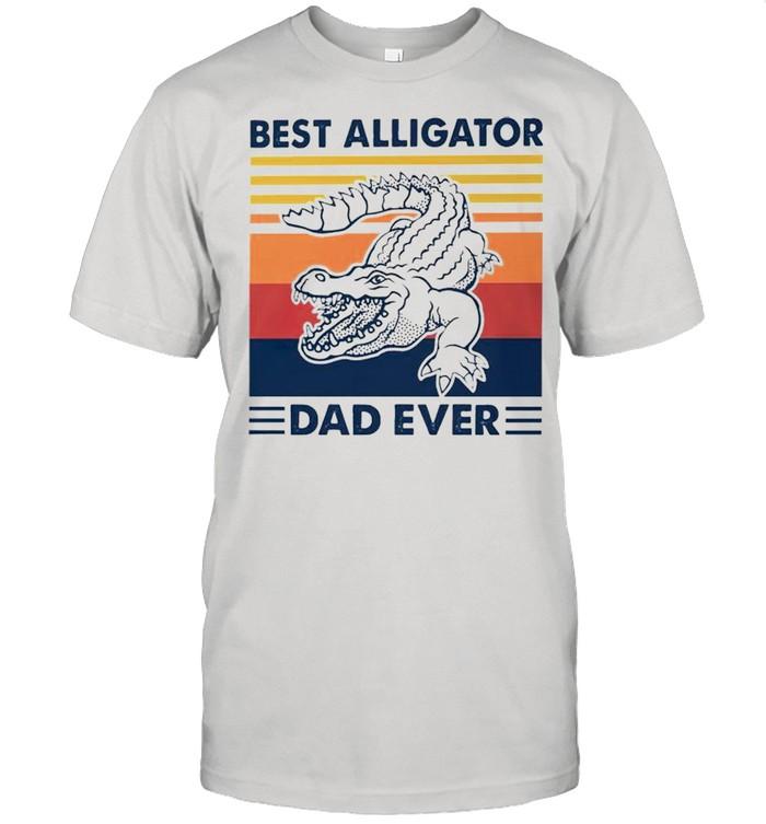Best Alligators Dad ever vintage shirt Classic Men's T-shirt