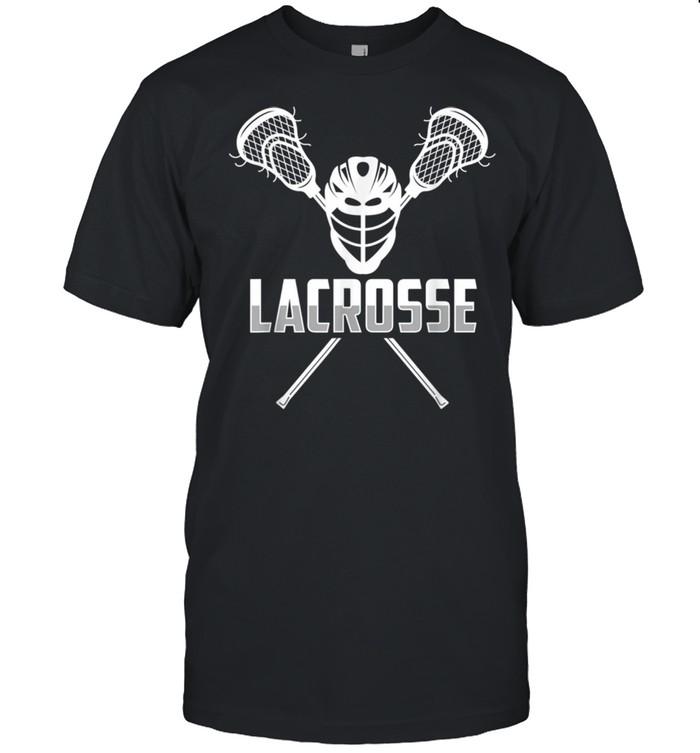Lacrosse Team Player Lacrosse shirt Classic Men's T-shirt