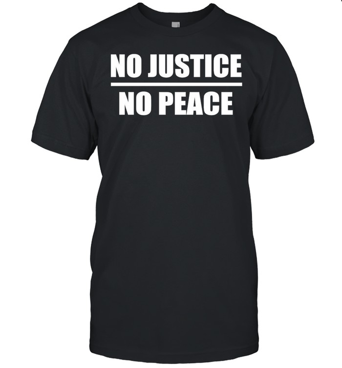 No Justice No Peace shirt Classic Men's T-shirt