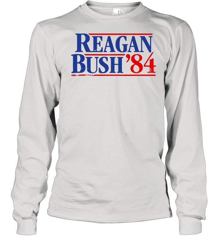 Reagan Bush '84  Long Sleeved T-shirt