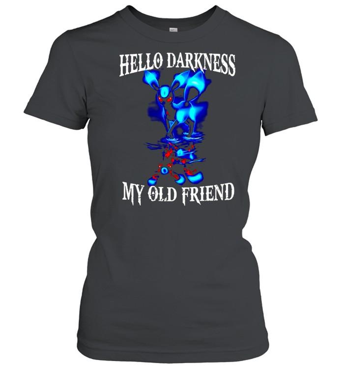 Hello darkness my old friend shirt Classic Women's T-shirt