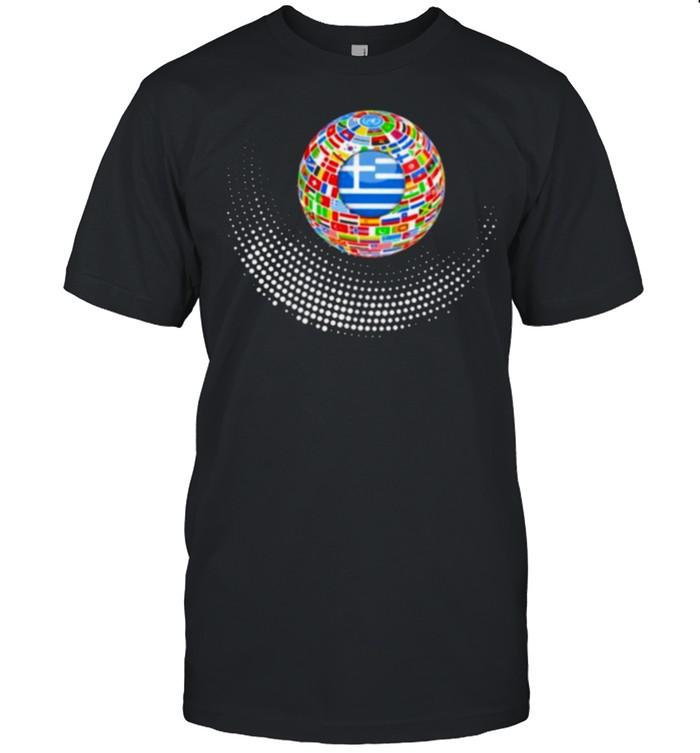 Greece center shirt Classic Men's T-shirt