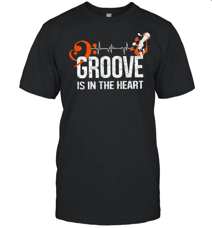 Groove is in the heart shirt Classic Men's T-shirt