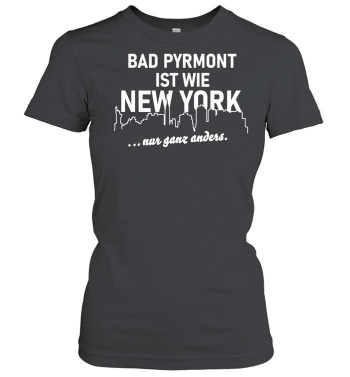 Bad Pyrmont ist wie New York Bad Pyrmont Langarmshirt  Classic Women's T-shirt