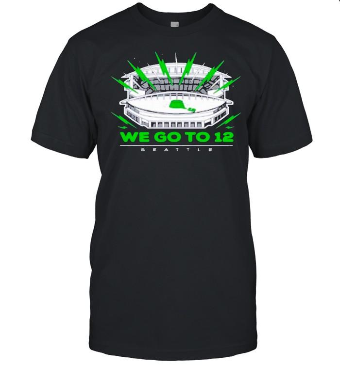 """We Go To 12"" Seattle Seahawks shirt Classic Men's T-shirt"
