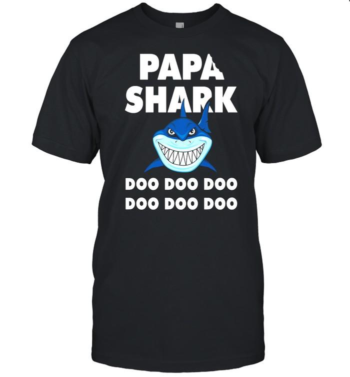 Papa Shark Doo Doo Doo Doo Doo Doo shirt Classic Men's T-shirt