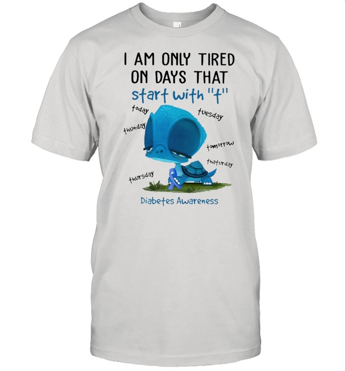 I am only tired on days that start with breast cancer shirt Classic Men's T-shirt
