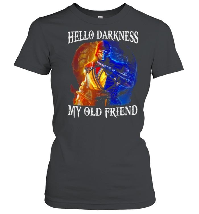 Hello Darkness My Old Friend Classic Women's T-shirt