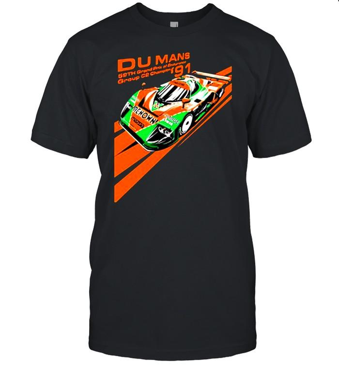 Du Mans Group Champion Mazda 787B  Classic Men's T-shirt