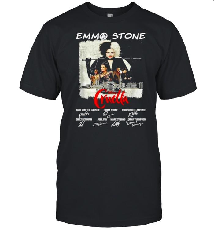 Emmas Stone Disney Cruella Signatures T- Classic Men's T-shirt