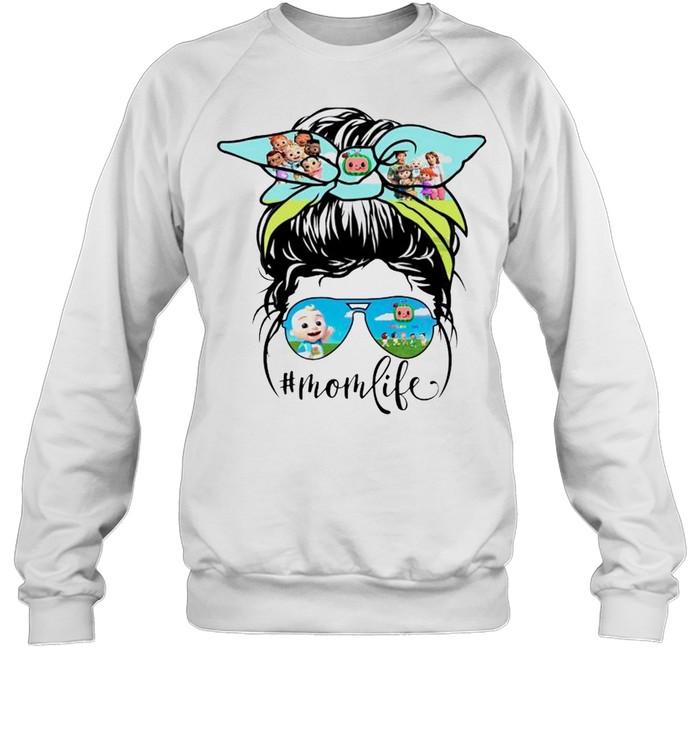 Cocomong characters Mom life shirt Unisex Sweatshirt