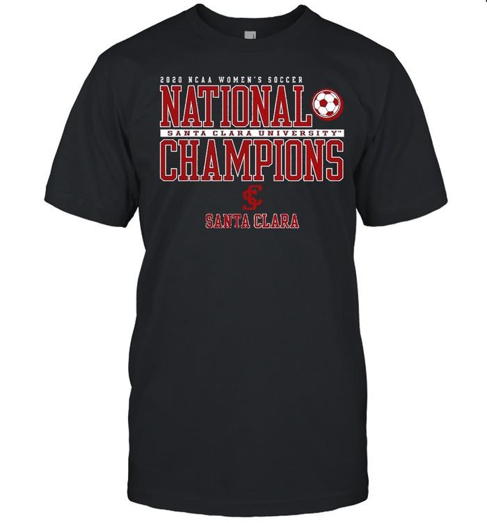 Santa Clara Broncos 2020 NCAA Womens Soccer National Champions shirt Classic Men's T-shirt