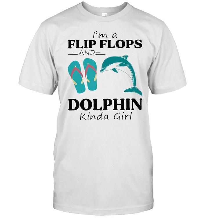 Im a flip flop and Dolphin kinda girl shirt Classic Men's T-shirt