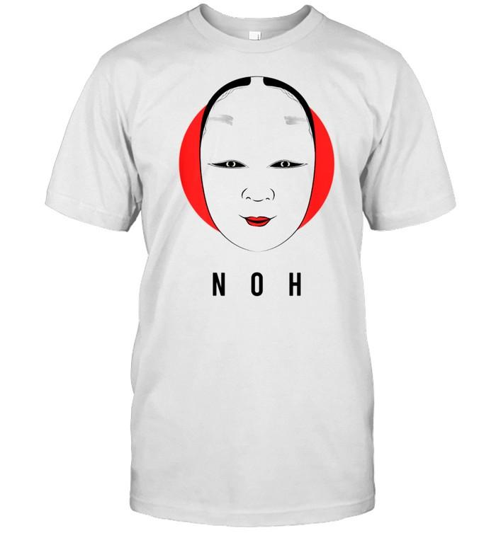 Noh Japanese Mask Samurai Japan Theatre Nogaku Dance Kyogen shirt Classic Men's T-shirt