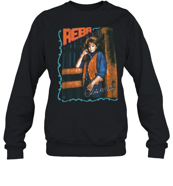 Reba Relo shirt Unisex Sweatshirt