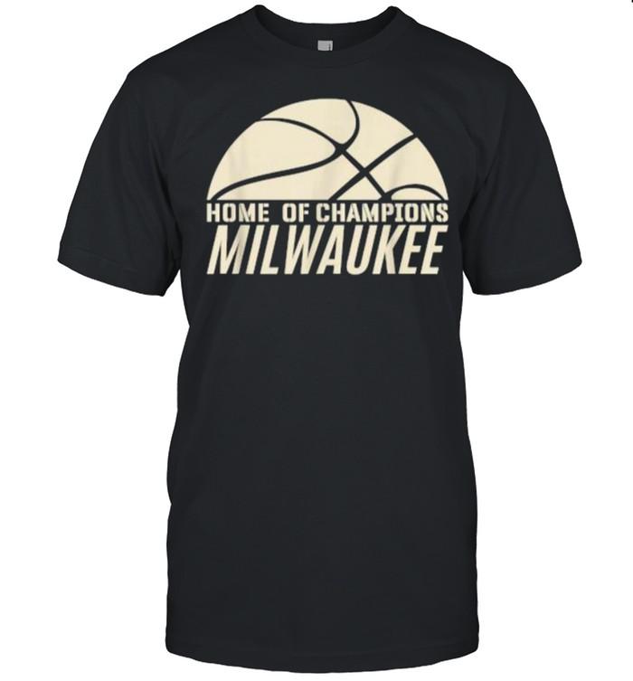 Home Of Champion Milwaukee Wisconsin Basketball Fan T- Classic Men's T-shirt