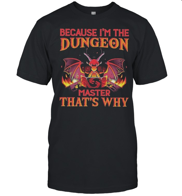 Dragon because im the dungeon master thats why shirt Classic Men's T-shirt